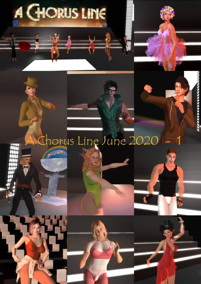 A CHORUS LINE JUNE 2020 - 1