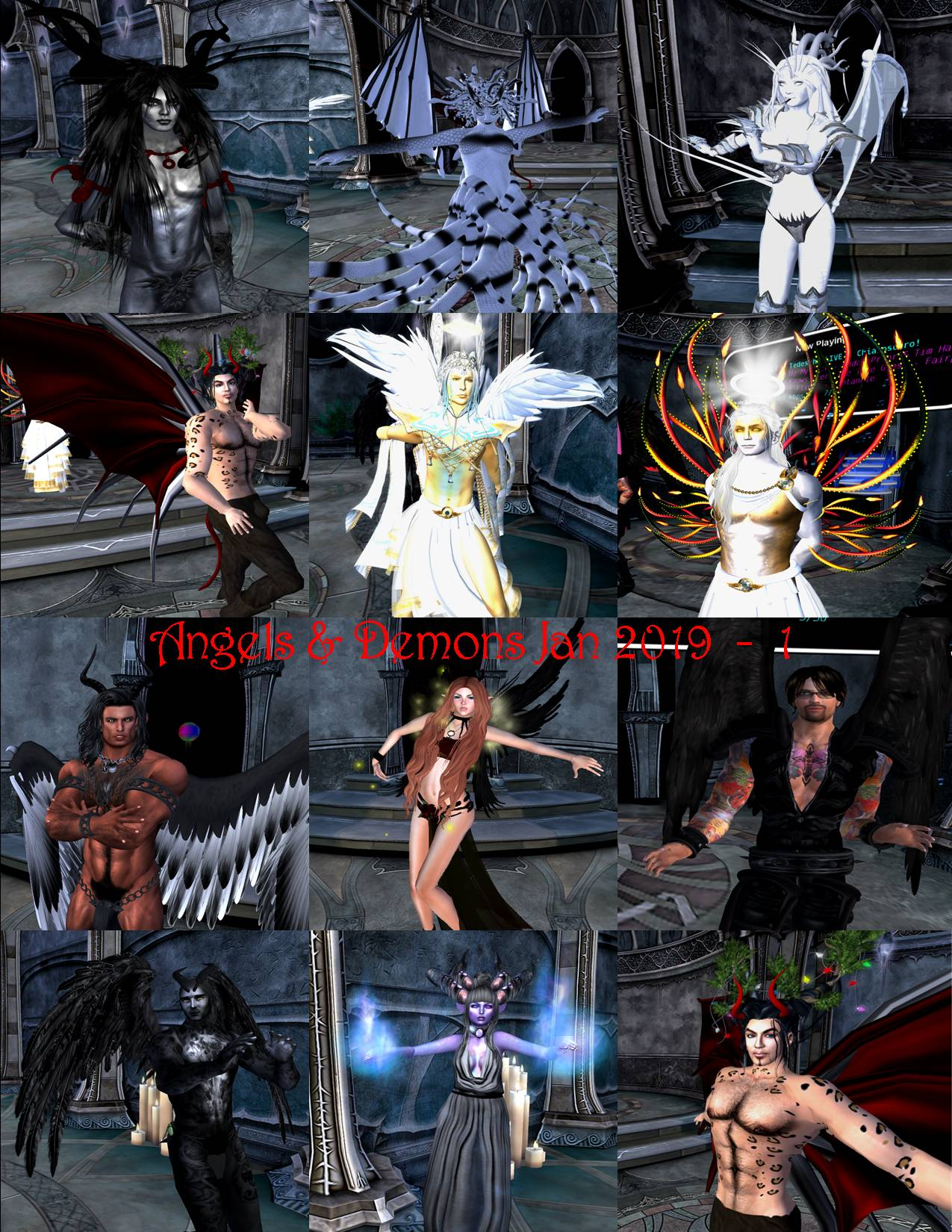 angels & demons party collage jan 2019 1