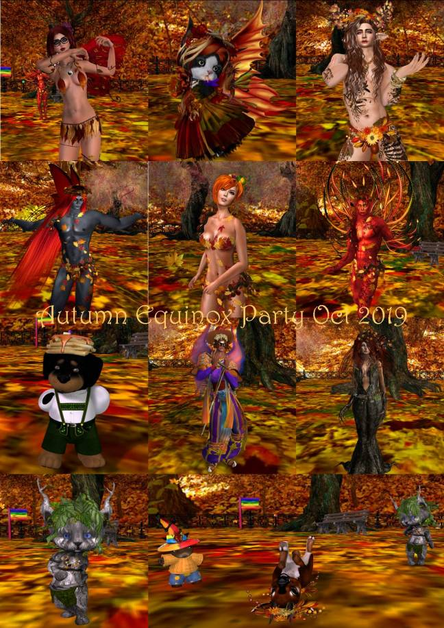 AUTUMN EQUINOX PARTY COLLAGE OCT 2019
