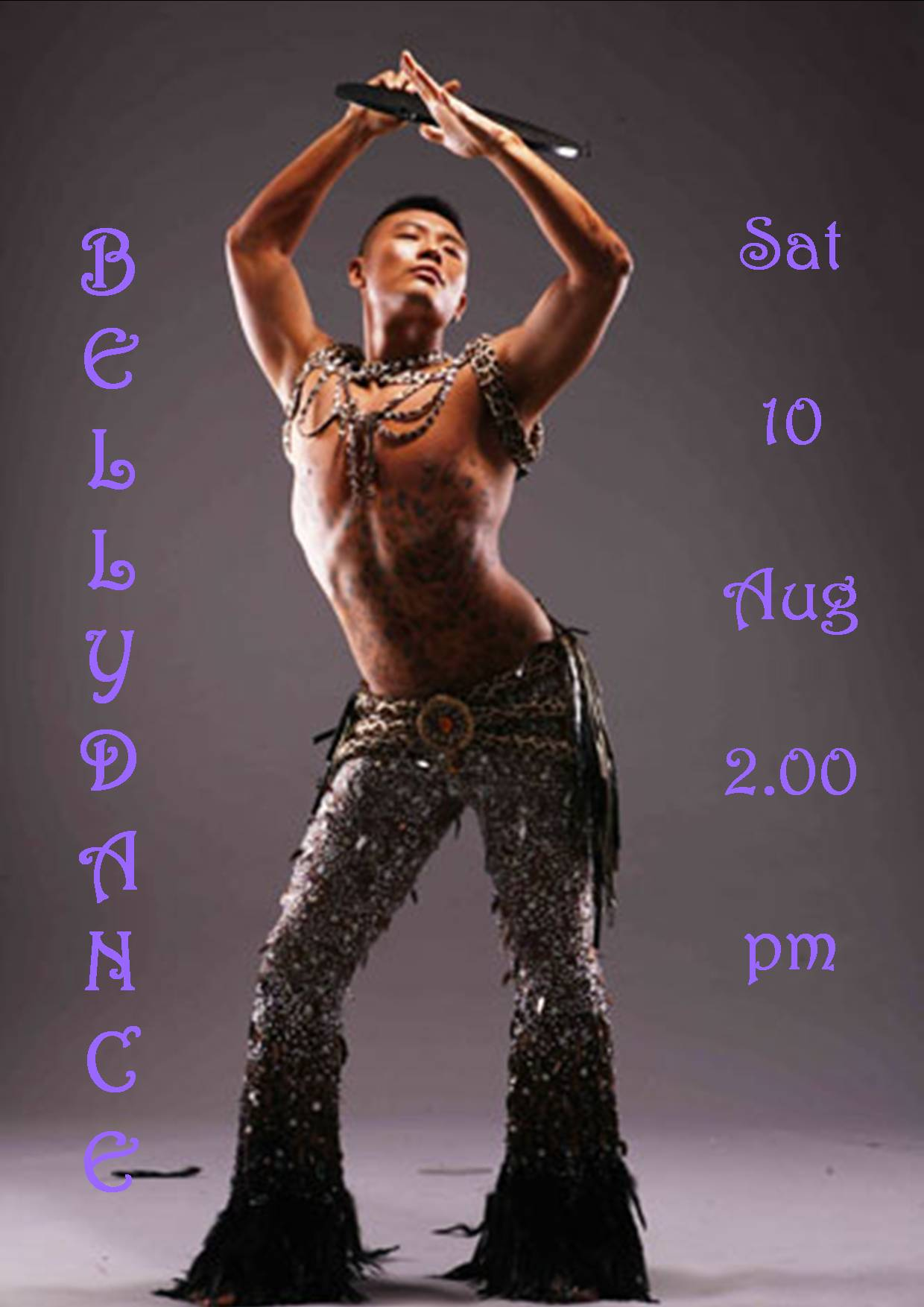 BELLYDANCE SAT 10 AUG 2.00PM 2019