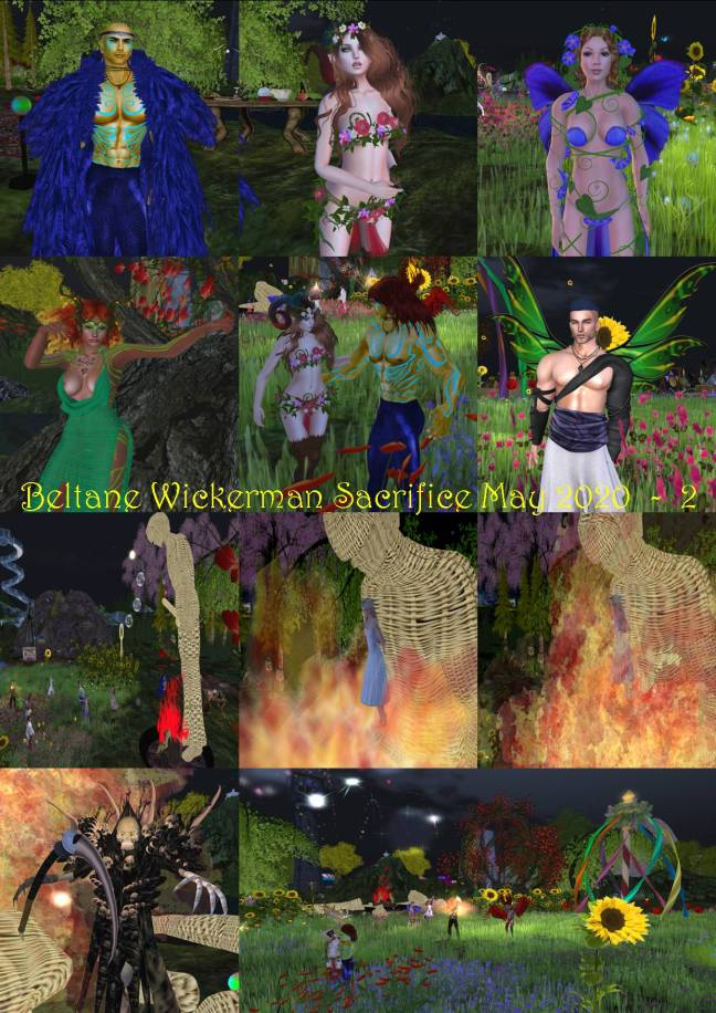 BELTANE WICKERMAN SACRIFICE MAY 2020 - 2