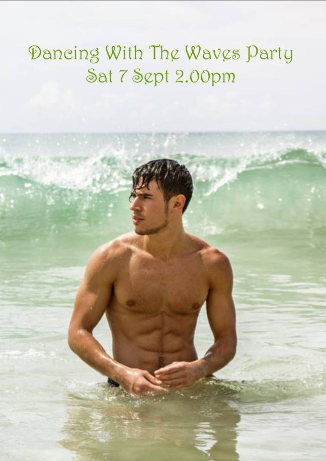 DANCING WITH THE WAVES PARTY SAT 7 SEPT 2019