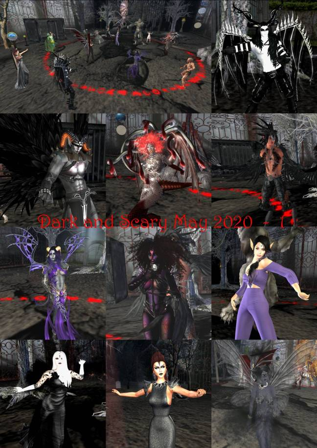 DARK AND SCARY COLLAGE MAY 2020 - 1