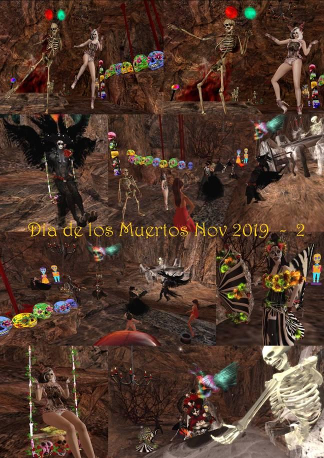 DIA DE LOS MUERTOS - DAY OF THE DEAD COLLAGE 2019 - 2