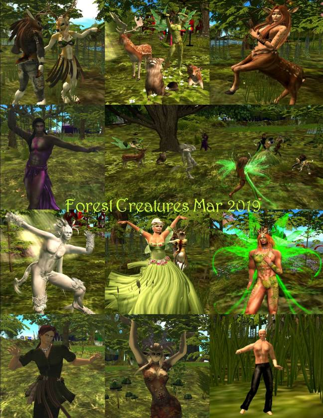 FOREST CREATURES COLLAGE MAR 2019