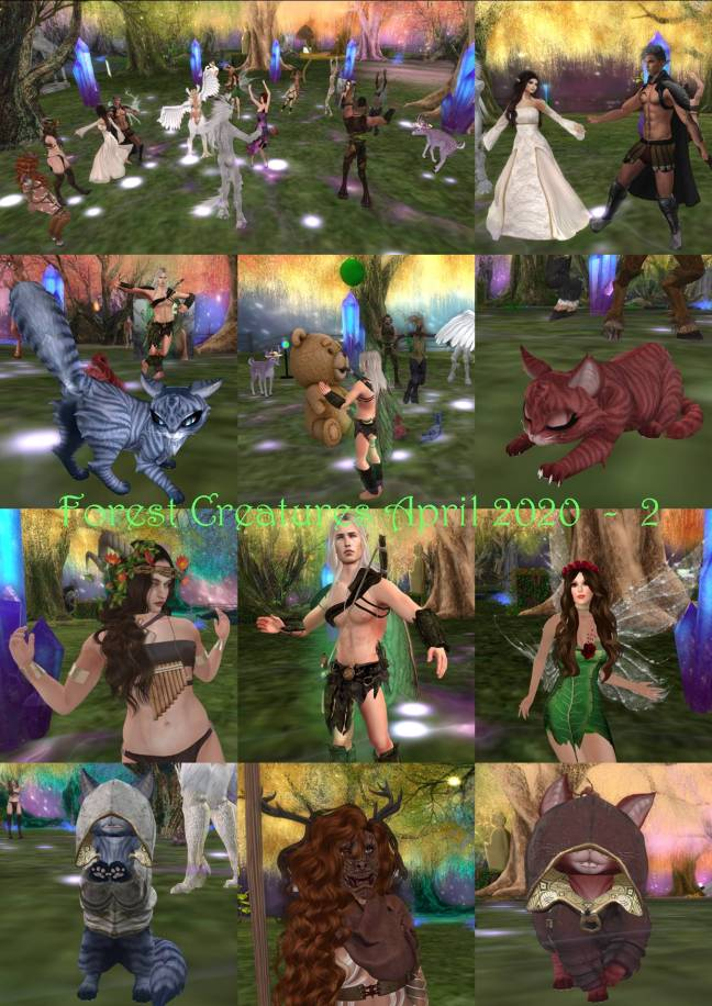 FOREST CREATURES PARTY COLLAGE APRIL 2020 - 1