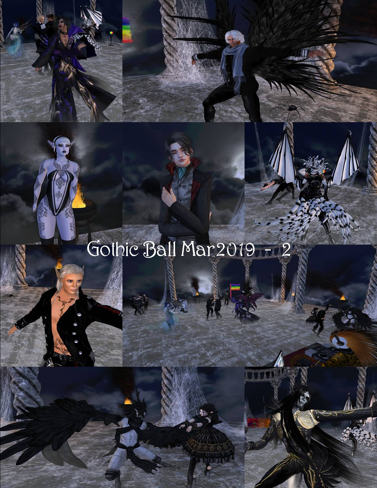 GOTHIC BALL COLLAGE MAR 2019 - 2