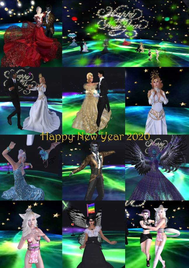 HAPPY NEW YEAR PARTY COLLAGE 2020