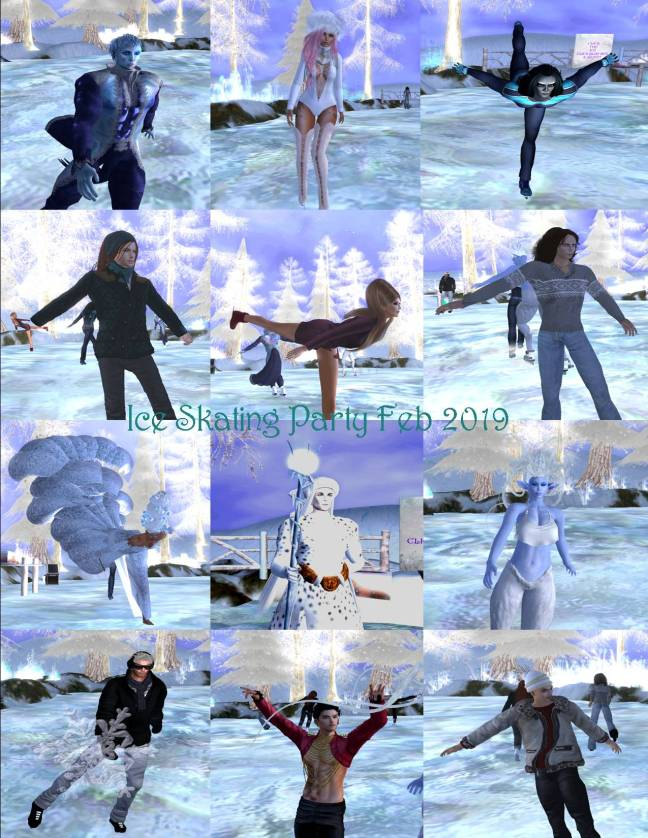 ICE SKATING PARTY COLLAGE FEB 2019