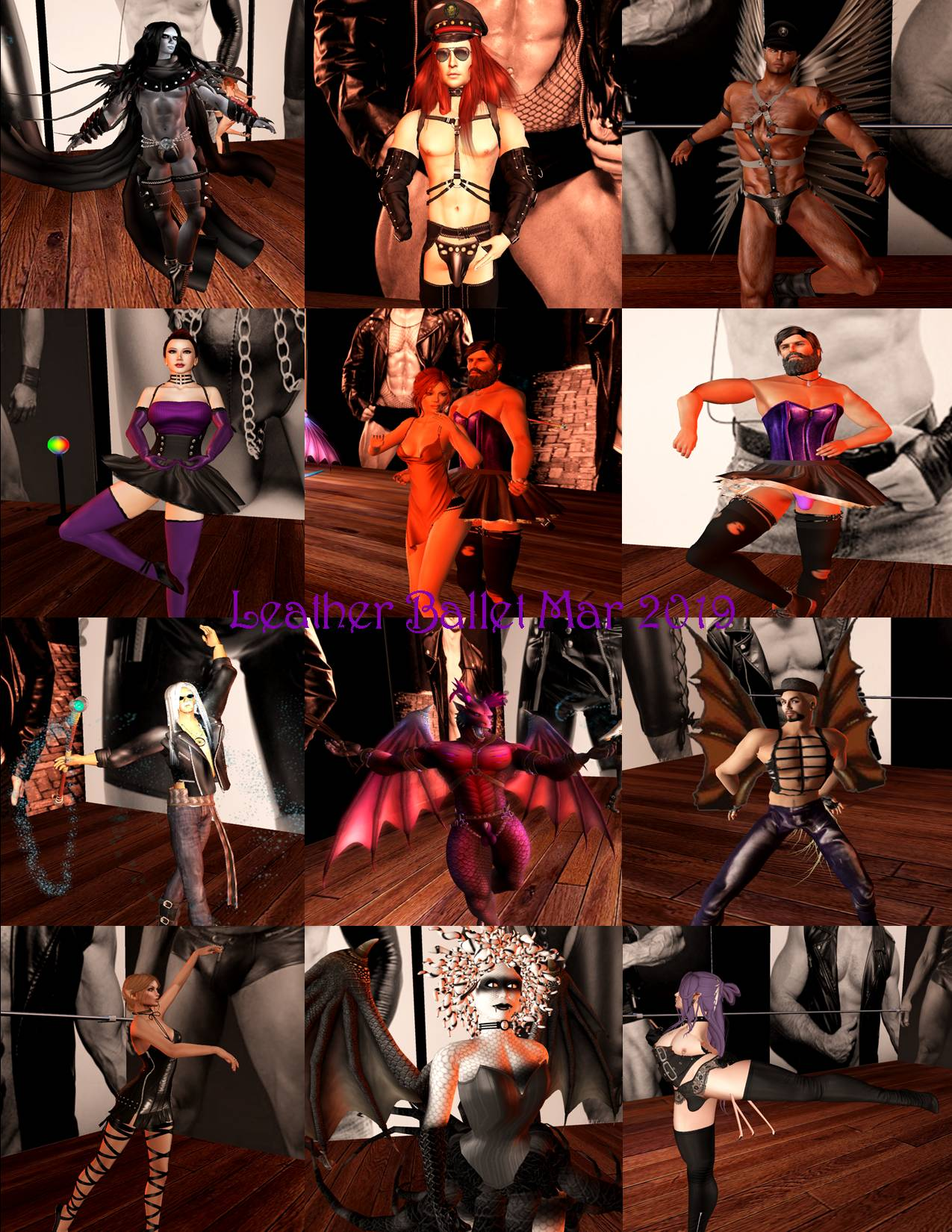 LEATHER BALLET COLLAGE MAR 2019