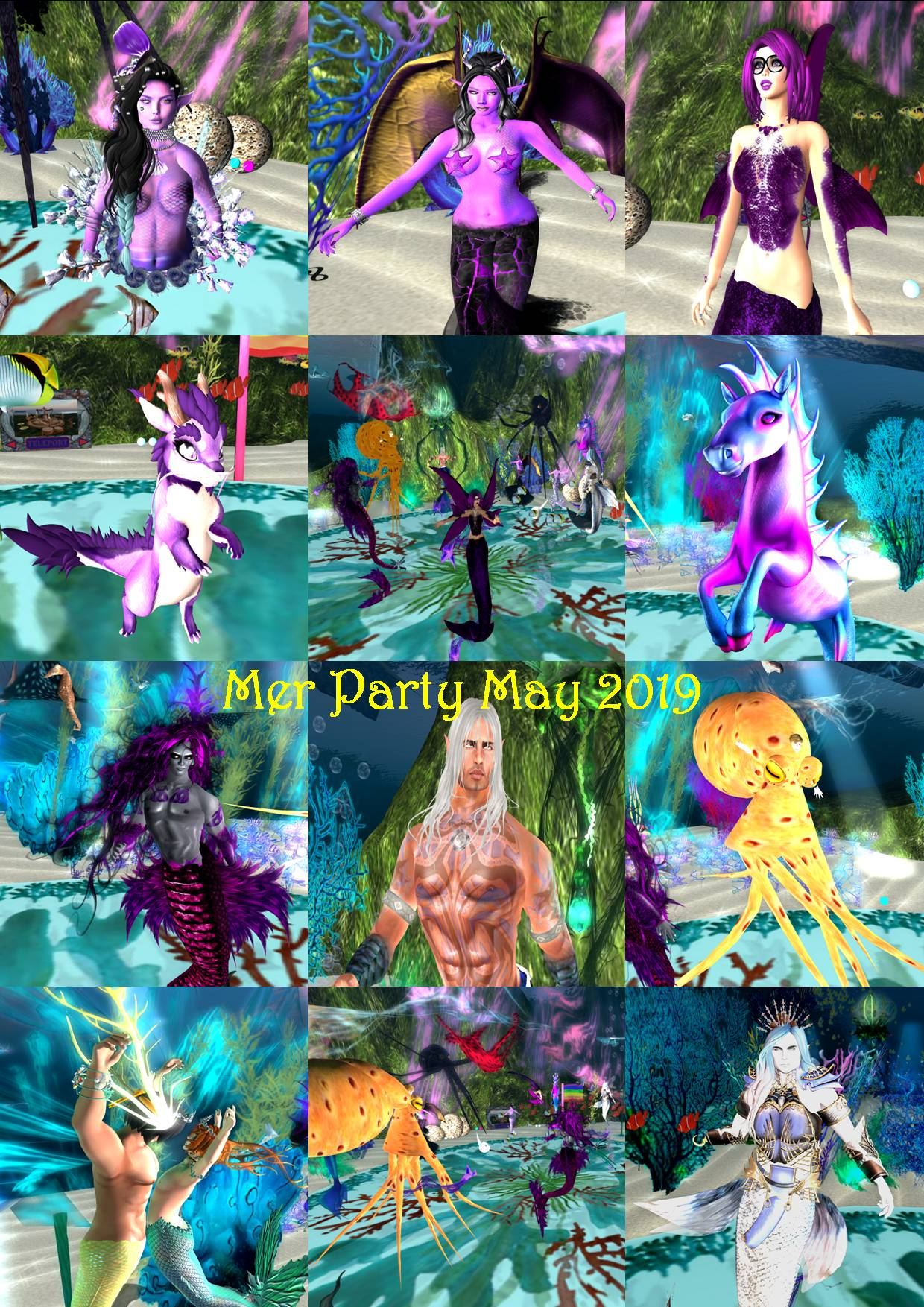 MER PARTY COLLAGE MAY 2019