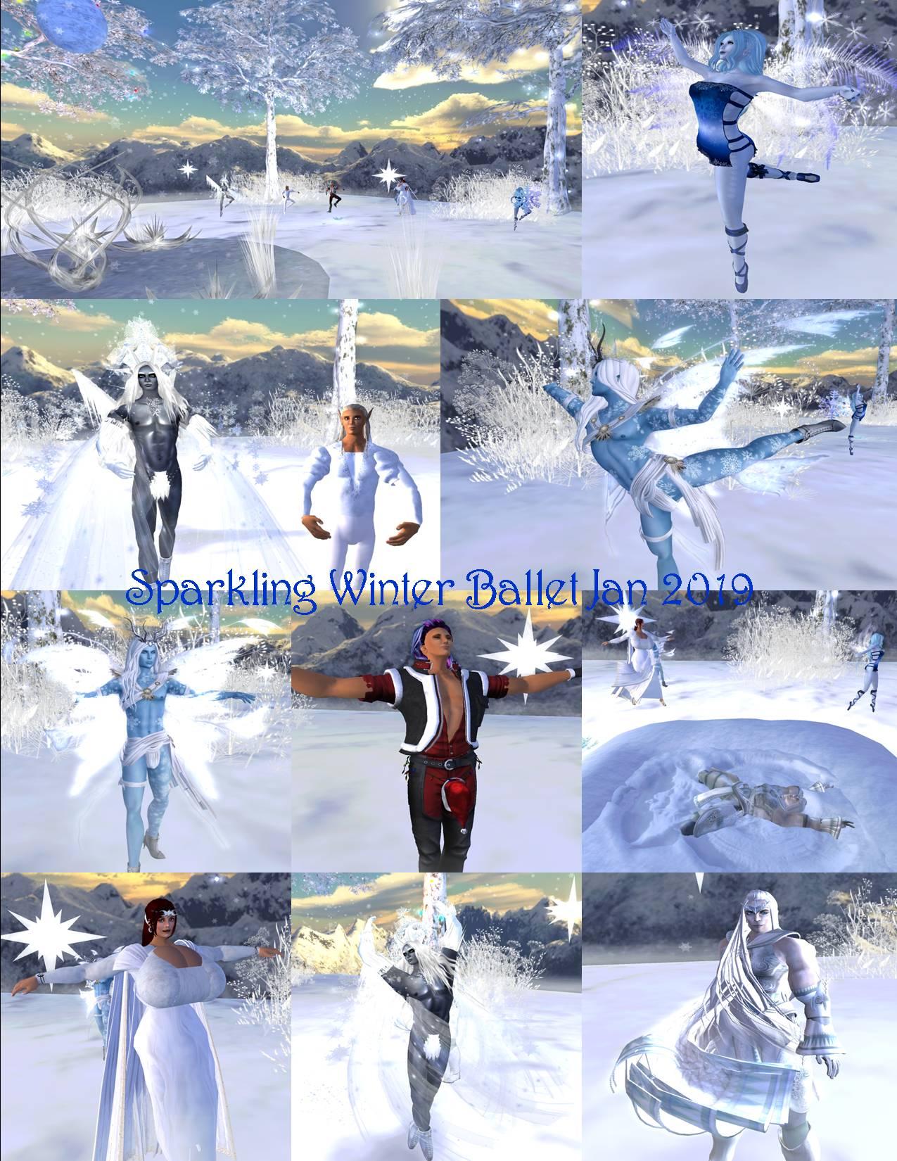 sparkling winter ballet collagfe jan 2019