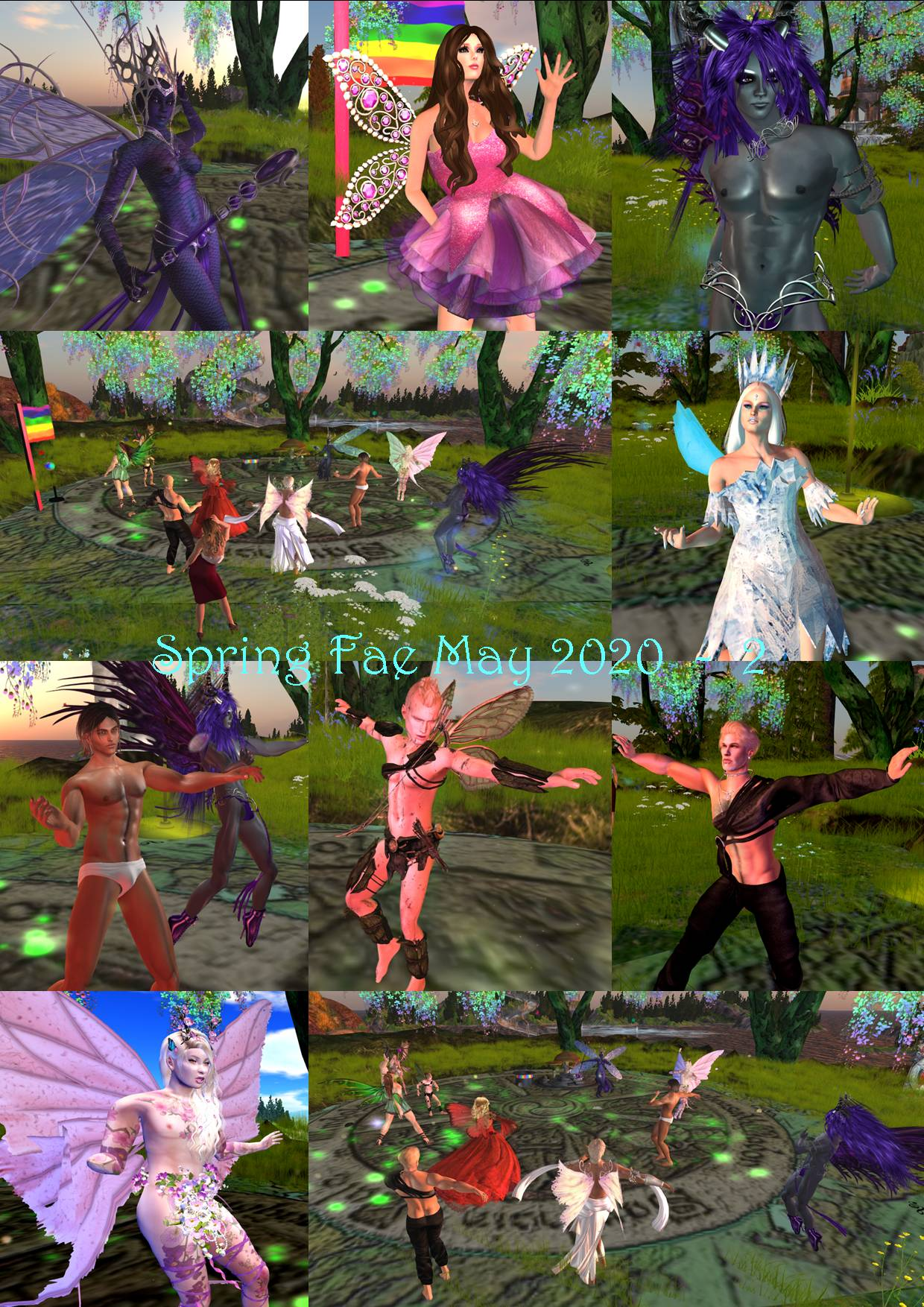 SPRING FAE COLLAGE MAY 2020 - 2