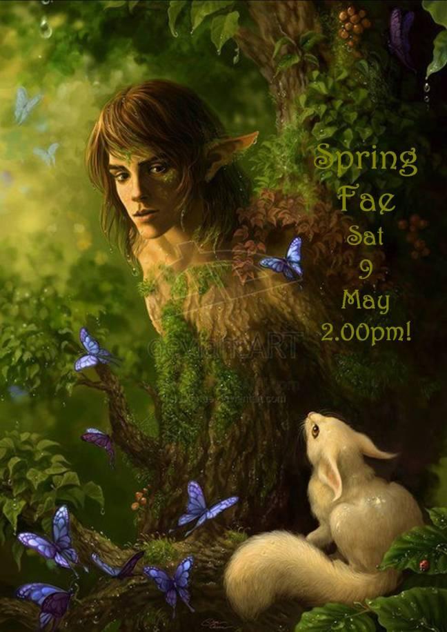 SPRING FAE SAT 9 MAY 2.00PM!