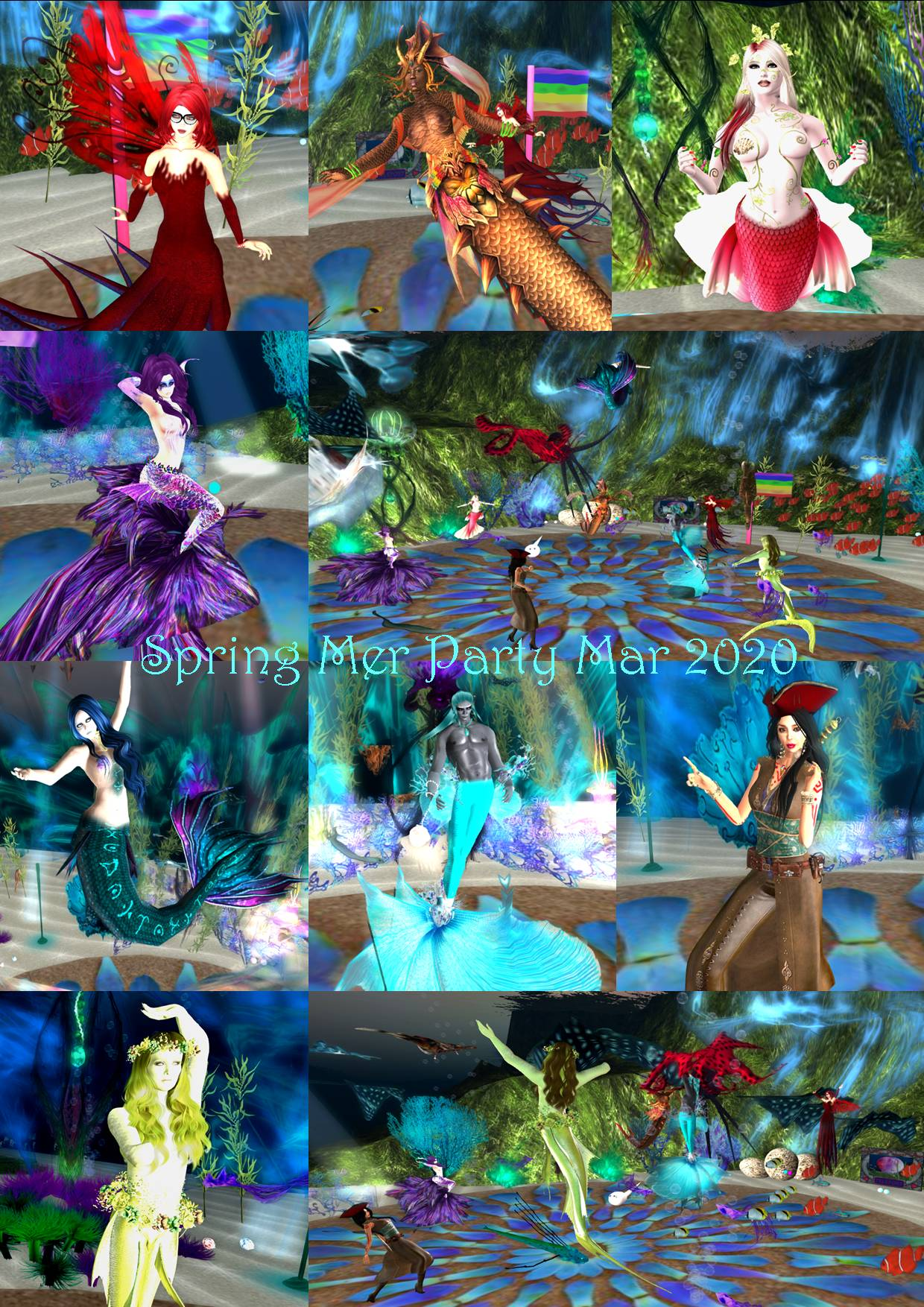 SPRING MER PARTY COLLAGE MAR 2020