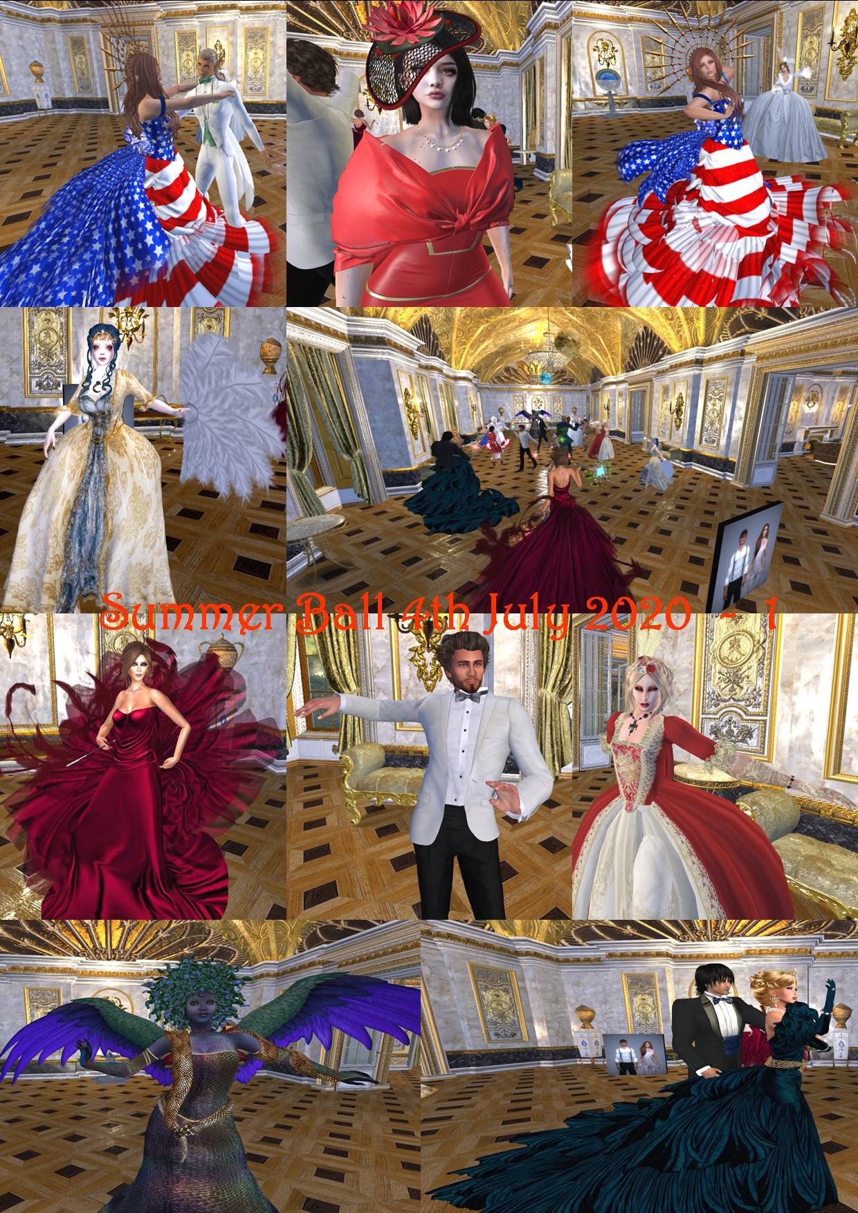 SUMMER BALL 4TH JULY COLLAGE 2020 - 1