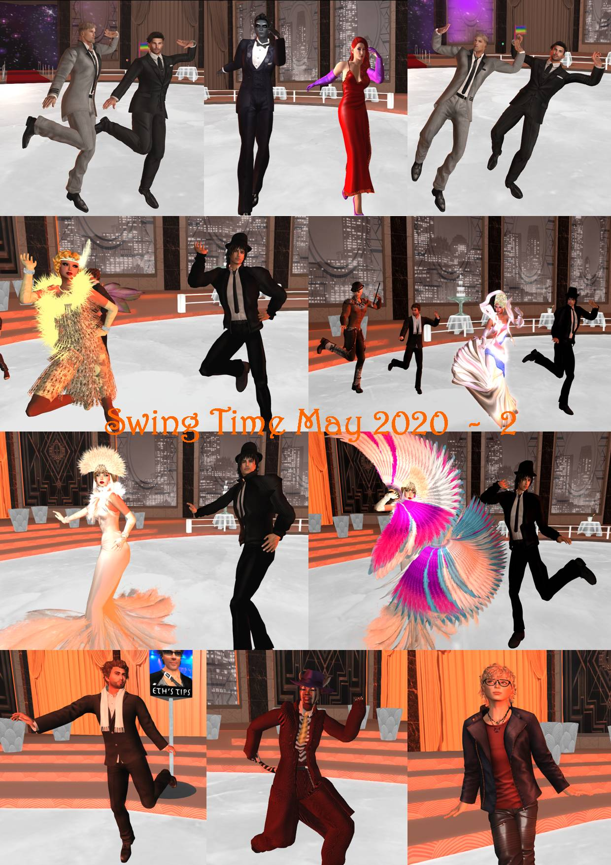 SWING TIME COLLAGE MAY 2020 - 2