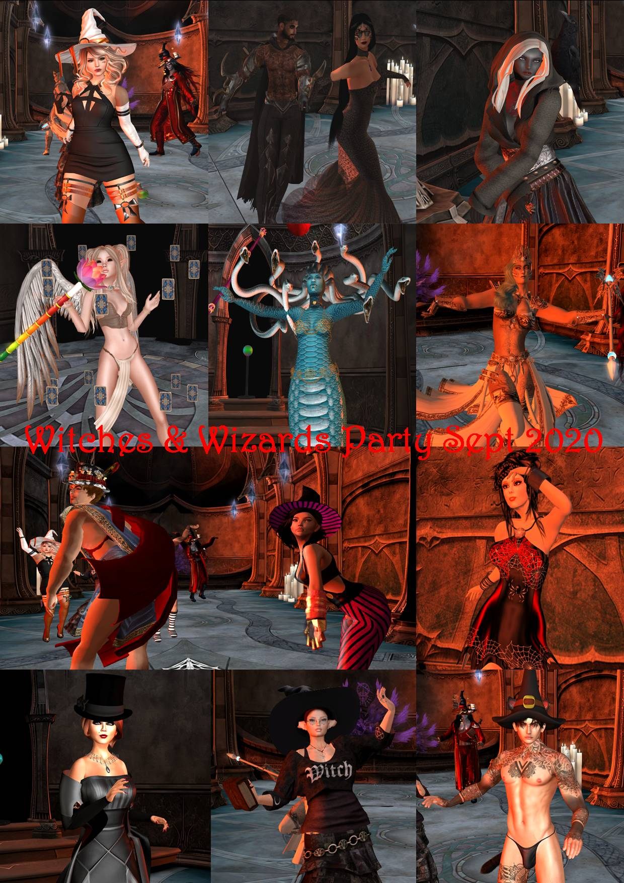 WITCHES & WIZARDS PARTY COLLAGE SEPT 2020 - 1